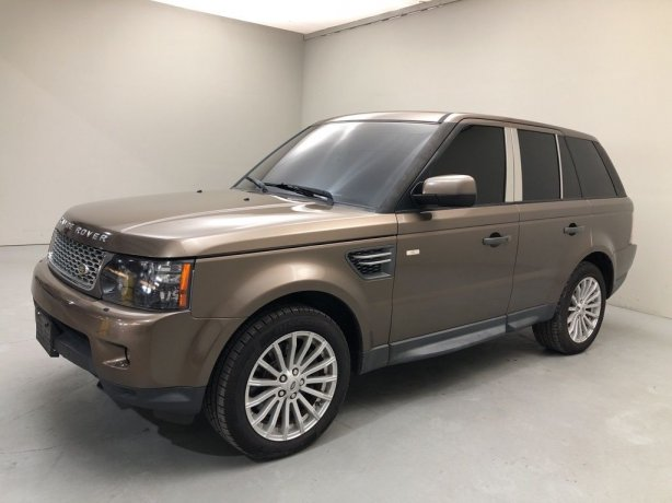Used 2011 Land Rover Range Rover Sport for sale in Houston TX.  We Finance!
