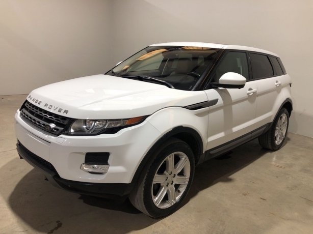 Used 2015 Land Rover Range Rover Evoque for sale in Houston TX.  We Finance!