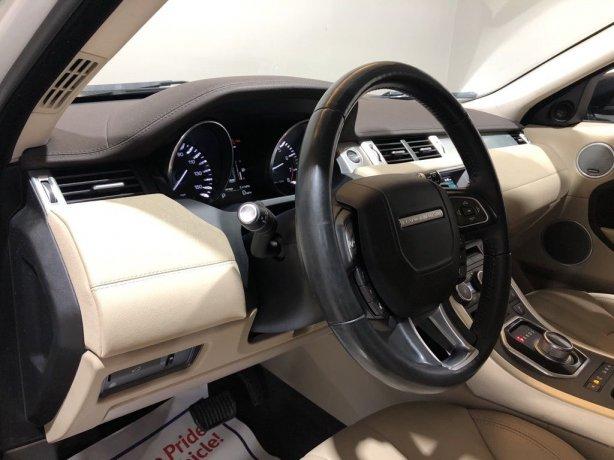 used 2015 Land Rover Range Rover Evoque for sale Houston TX