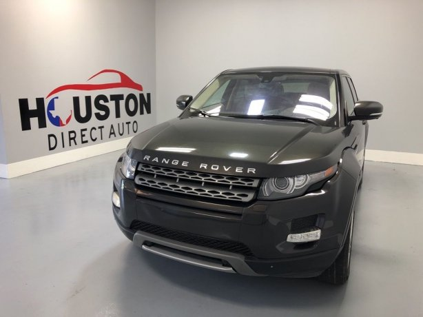 Used 2012 Land Rover Range Rover Evoque for sale in Houston TX.  We Finance!