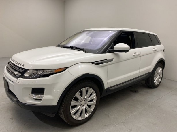 Used 2014 Land Rover Range Rover Evoque for sale in Houston TX.  We Finance!