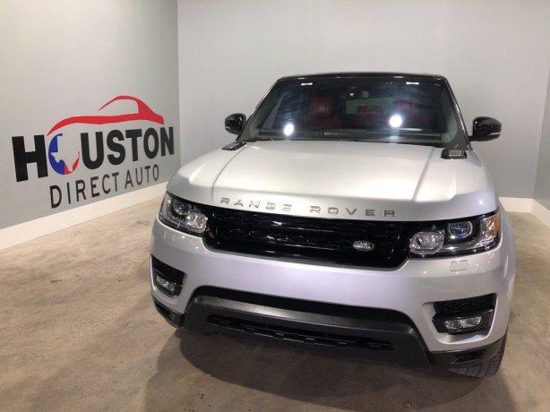 Used 2016 Land Rover Range Rover Sport for sale in Houston TX.  We Finance!