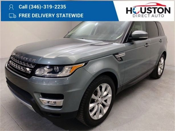 Used 2015 Land Rover Range Rover Sport for sale in Houston TX.  We Finance!