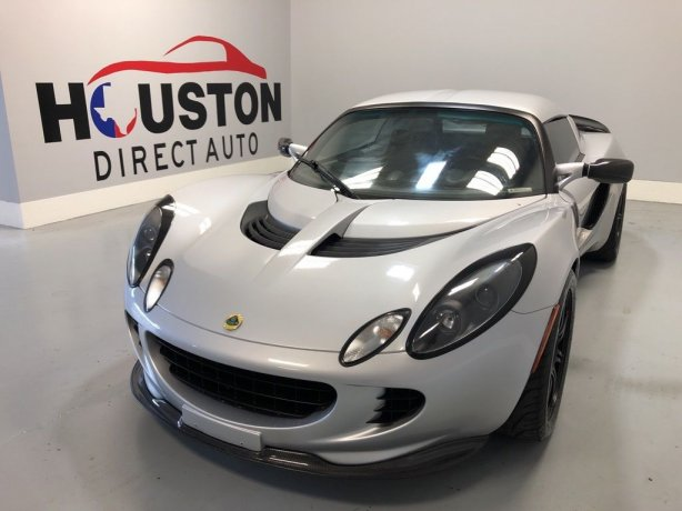 Used 2005 Lotus Elise for sale in Houston TX.  We Finance!