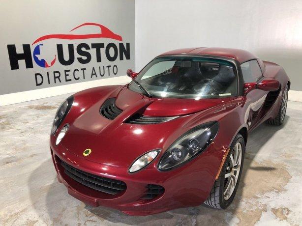 Used 2005 Lotus Elise for sale in Houston TX.  We Finance!