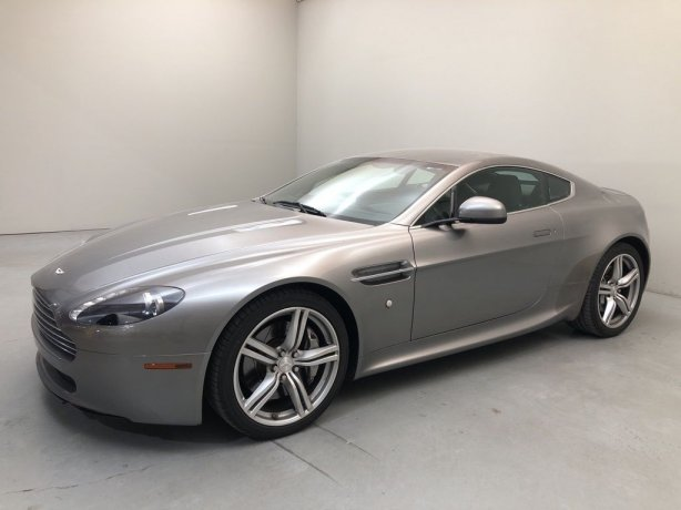 Used 2010 Aston Martin V8 Vantage for sale in Houston TX.  We Finance!