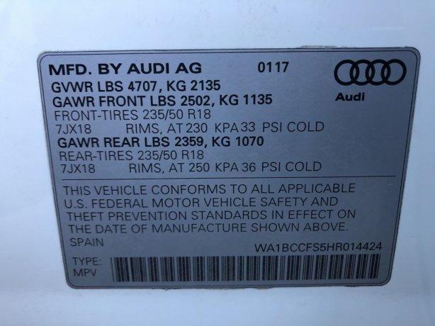Audi Q3 2017 near me