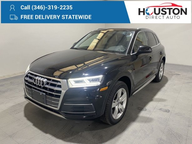 Used 2018 Audi Q5 for sale in Houston TX.  We Finance!