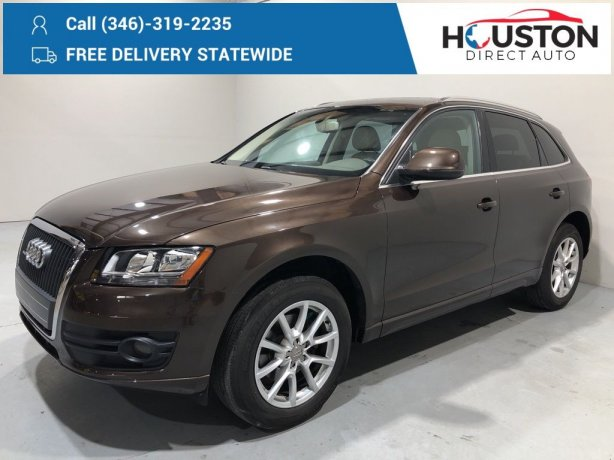 Used 2011 Audi Q5 for sale in Houston TX.  We Finance!