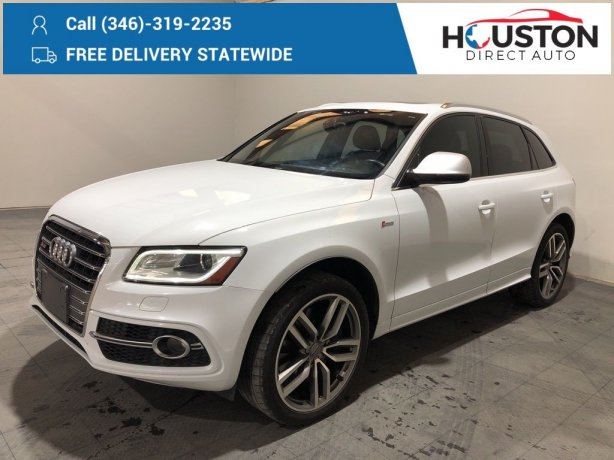 Used 2014 Audi SQ5 for sale in Houston TX.  We Finance!