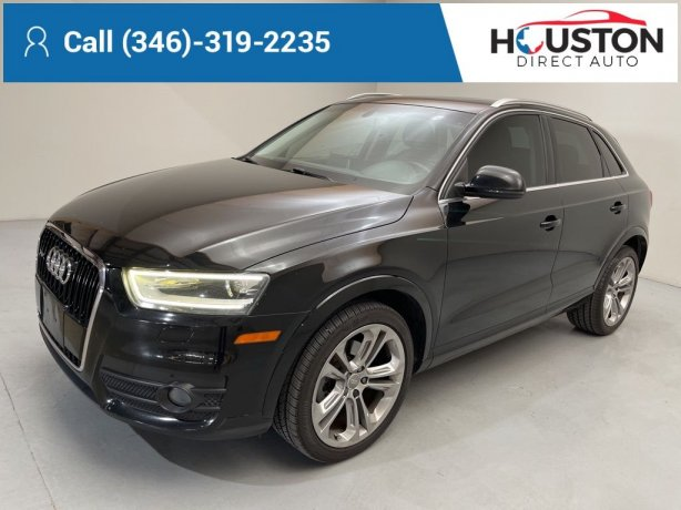 Used 2015 Audi Q3 for sale in Houston TX.  We Finance!