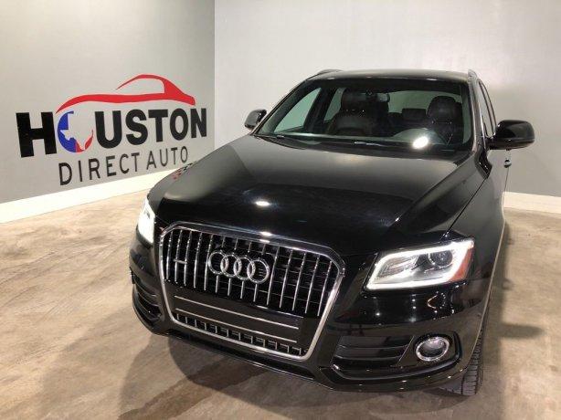 Used 2017 Audi Q5 for sale in Houston TX.  We Finance!
