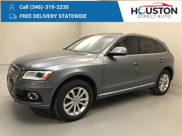 Used 2016 Audi Q5 for sale in Houston TX.  We Finance!
