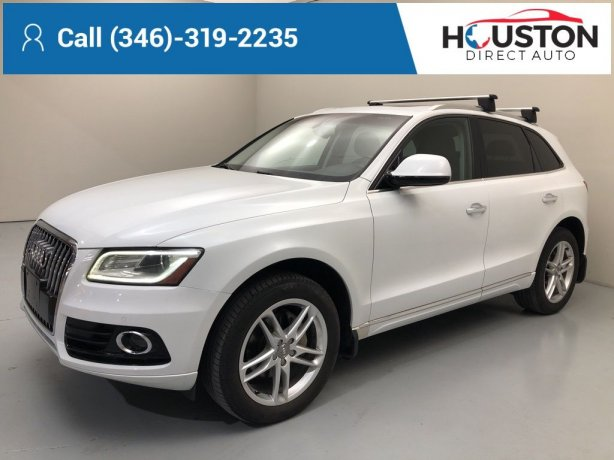Used 2015 Audi Q5 for sale in Houston TX.  We Finance!