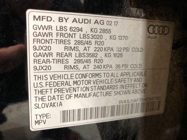 Audi Q7 cheap for sale