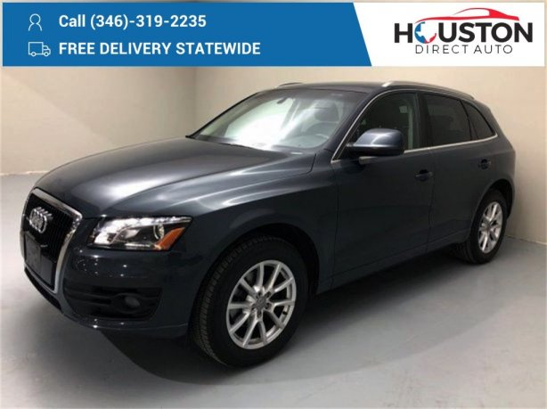 Used 2010 Audi Q5 for sale in Houston TX.  We Finance!