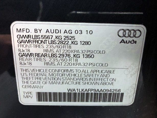 Audi 2010 for sale near me