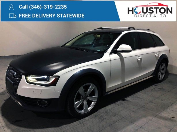 Used 2013 Audi allroad for sale in Houston TX.  We Finance!