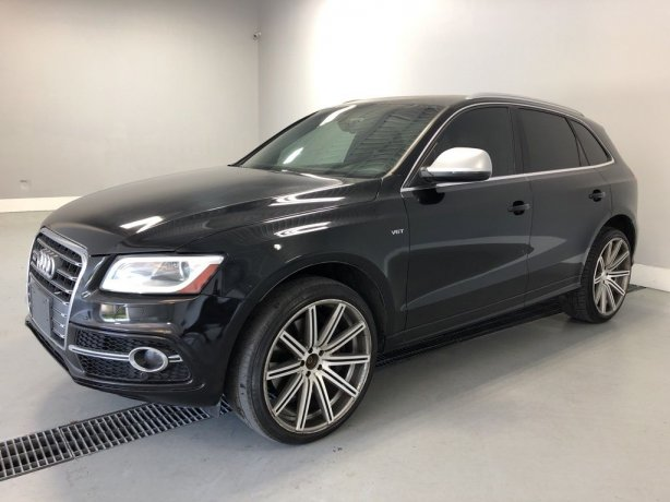 Used Audi SQ5 for sale in Houston TX.  We Finance!