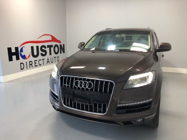 Used 2010 Audi Q7 for sale in Houston TX.  We Finance!