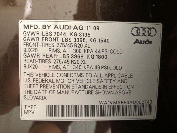 Audi Q7 2010 near me