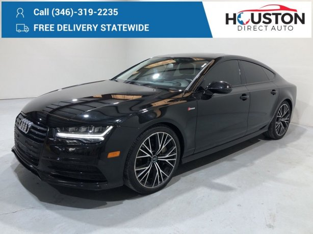 Used 2016 Audi A7 for sale in Houston TX.  We Finance!