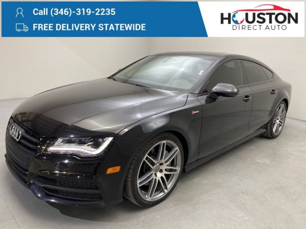 Used 2014 Audi A7 for sale in Houston TX.  We Finance!