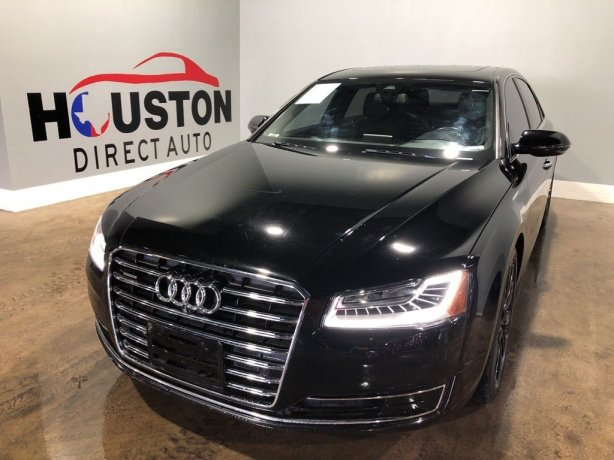 Used 2016 Audi A8 for sale in Houston TX.  We Finance!