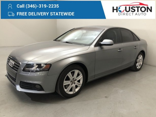Used 2010 Audi A4 for sale in Houston TX.  We Finance!