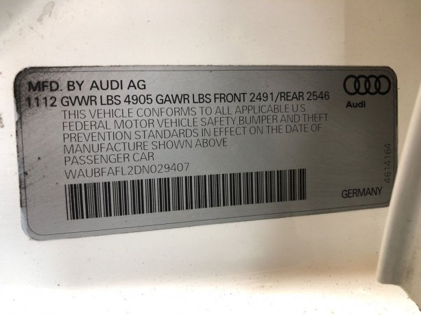 Audi 2013 for sale near me