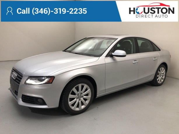 Used 2012 Audi A4 for sale in Houston TX.  We Finance!