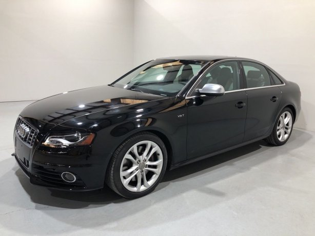 Used 2010 Audi S4 for sale in Houston TX.  We Finance!