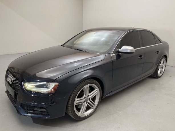 Used 2013 Audi S4 for sale in Houston TX.  We Finance!