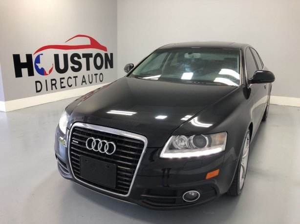 Used 2010 Audi A6 for sale in Houston TX.  We Finance!