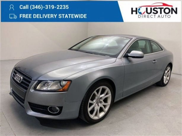 Used 2011 Audi A5 for sale in Houston TX.  We Finance!
