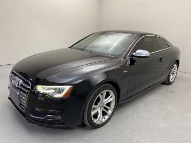 Used 2013 Audi S5 for sale in Houston TX.  We Finance!