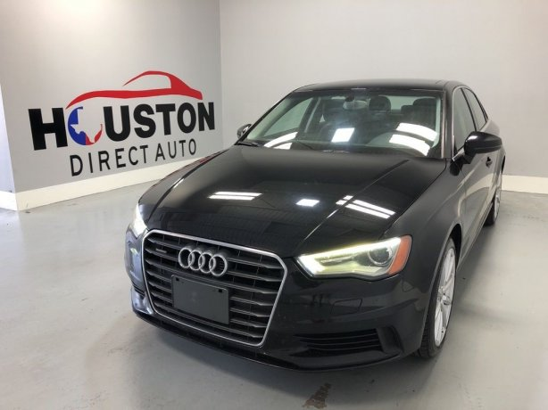 Used 2015 Audi A3 for sale in Houston TX.  We Finance!