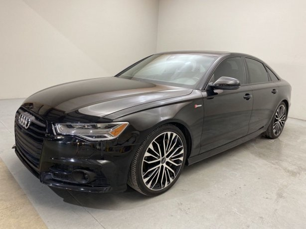 Used 2017 Audi A6 for sale in Houston TX.  We Finance!