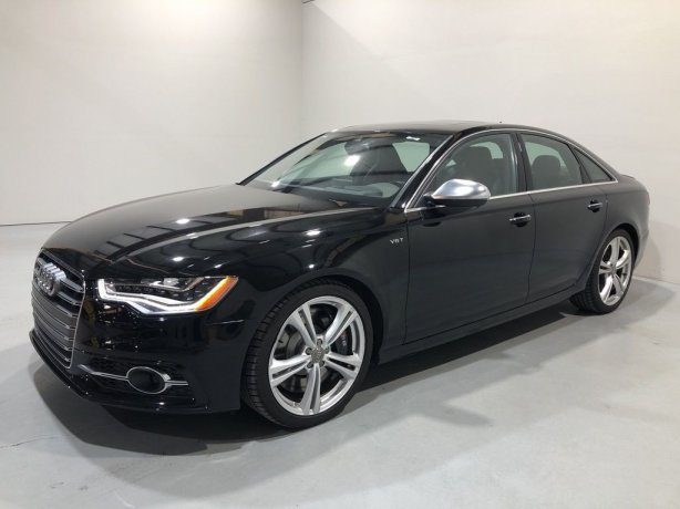 Used 2015 Audi S6 for sale in Houston TX.  We Finance!