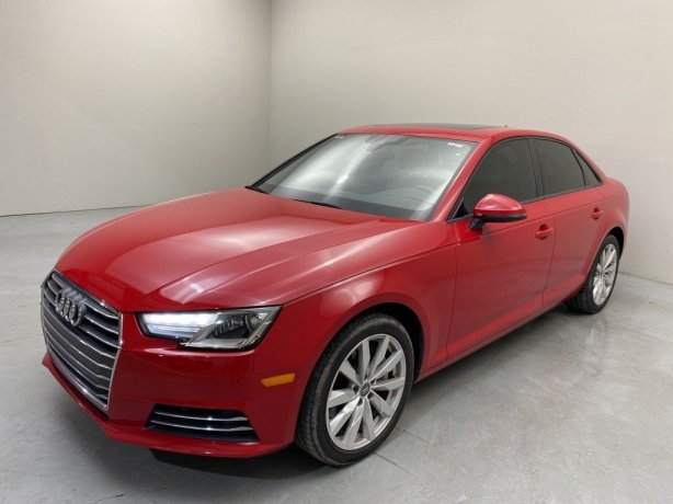 Used 2017 Audi A4 for sale in Houston TX.  We Finance!