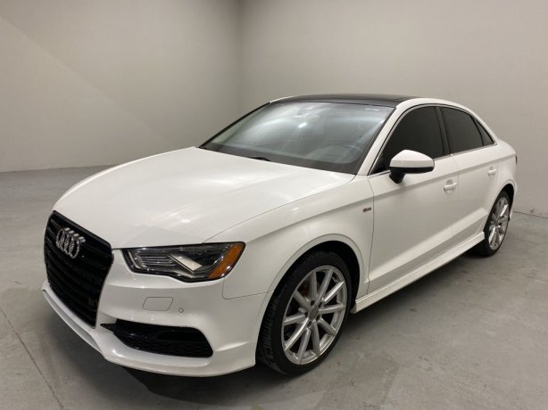 Used 2016 Audi A3 for sale in Houston TX.  We Finance!