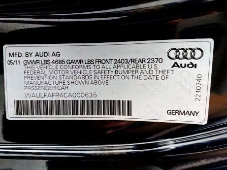 Audi A5 2012 for sale