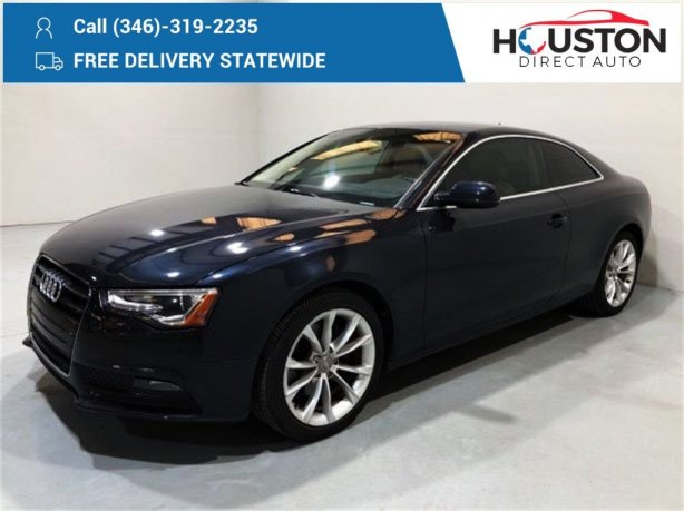 Used 2013 Audi A5 for sale in Houston TX.  We Finance!
