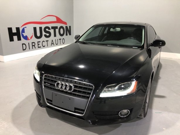 Used 2012 Audi A5 for sale in Houston TX.  We Finance!