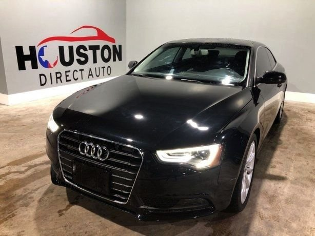 Used 2014 Audi A5 for sale in Houston TX.  We Finance!