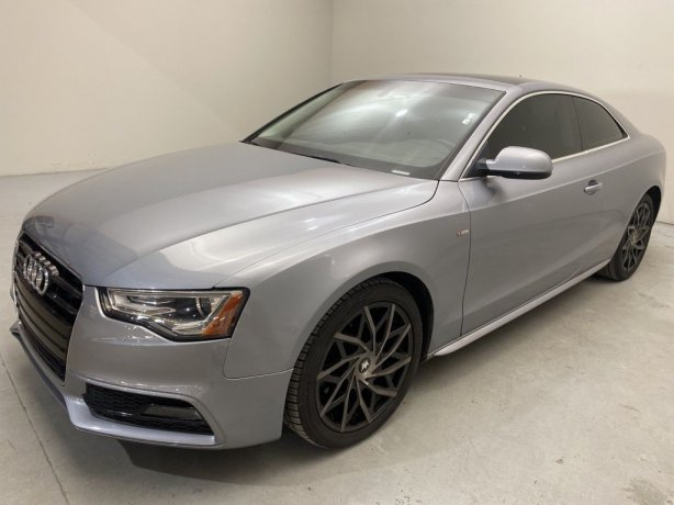 Used 2016 Audi A5 for sale in Houston TX.  We Finance!