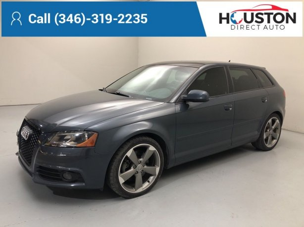 Used 2012 Audi A3 for sale in Houston TX.  We Finance!