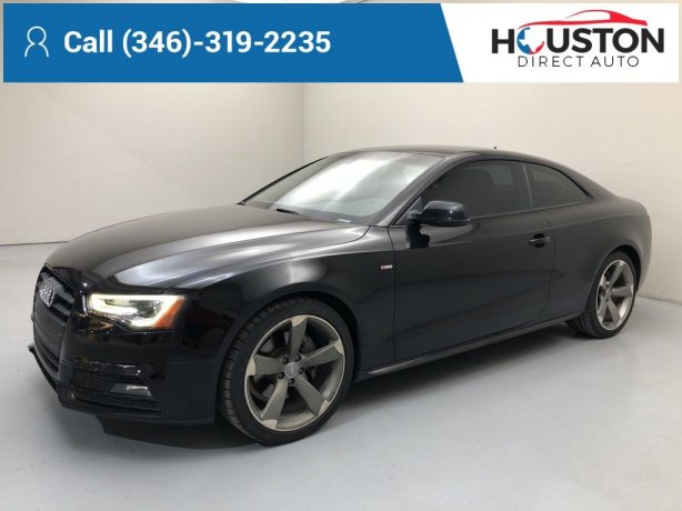 Used 2015 Audi A5 for sale in Houston TX.  We Finance!