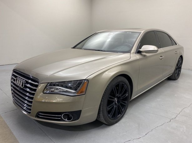 Used 2014 Audi A8 for sale in Houston TX.  We Finance!