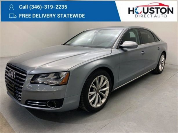 Used 2011 Audi A8 for sale in Houston TX.  We Finance!